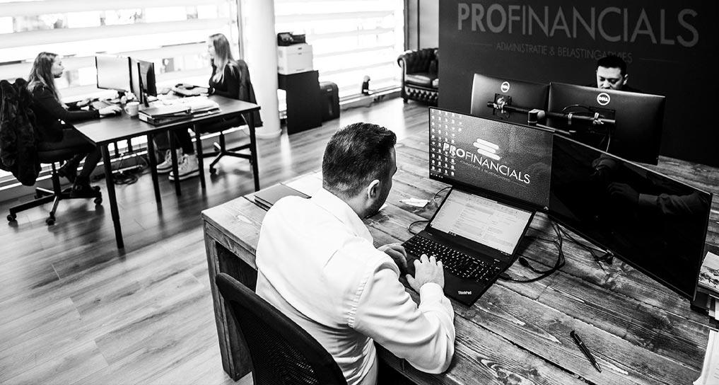 Boekhouder eindhoven Profinancials - foto van binnenzijde kantoor
