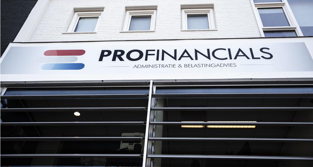 Boekhouder eindhoven Profinancials - foto van kantoorpand